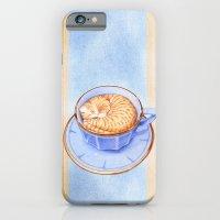 Cat in Coffee iPhone 6 Slim Case