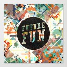 Future Fun Canvas Print
