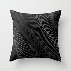 Minimal curves II Throw Pillow