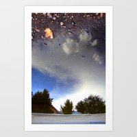Starry Earth Art Print