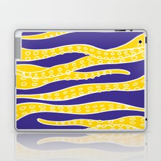 Yellow Tentacles Laptop & iPad Skin