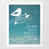 Do Not Worry Art Print