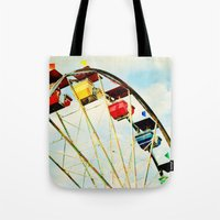 round and round we go Tote Bag