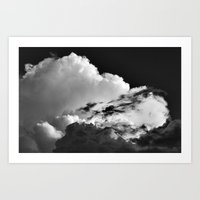 'Swirling Clouds' Art Print