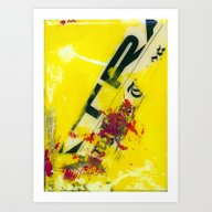 YELLOW6 Art Print