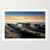 La Jolla Cove Sunset Art Print