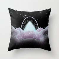 Mathemystics - Void Throw Pillow