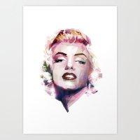 Marilyn Art Print