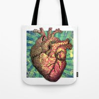 Anatomical heART Tote Bag
