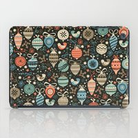 Festive Folk Charms iPad Case
