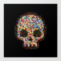 Spectrum Colors Arranged By Chance Canvas Print