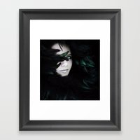 Delicate In Every Way Framed Art Print