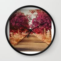 Camino Wall Clock