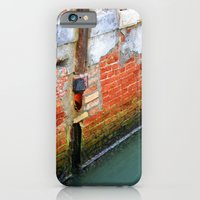 iPhone & iPod Case featuring Dilapidated Drain by Kim Ramage