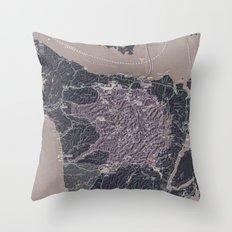 Olympic Peninsula Throw Pillow