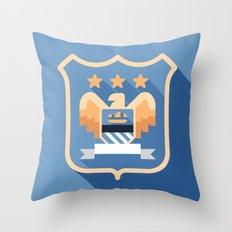 MCFC Throw Pillow