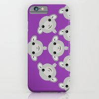 iPhone & iPod Case featuring Sheep Circle - 4 by Loesj