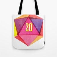 Rolling D20's Like A Big Shot  Tote Bag