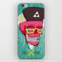 Hell Yeah Skull 2 iPhone & iPod Skin