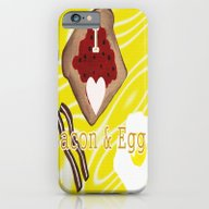 I Love Bacon And Eggs iPhone 6 Slim Case