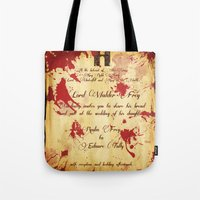Red Wedding Tote Bag