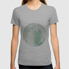 La extraña pareja Womens Fitted Tee Athletic Grey SMALL