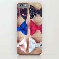 iPhone & iPod Case featuring 6Bows by rachellam