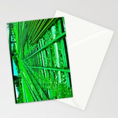 GREEN TRAIN HARD Stationery Cards