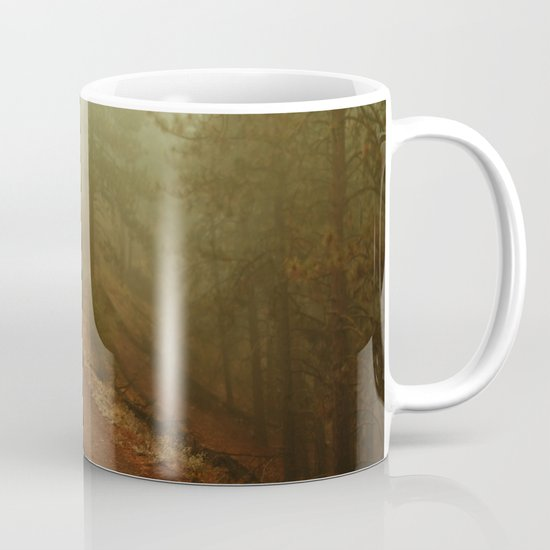 Autumn in Ponderosa Pines Forest Mug