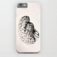brain iPhone & iPod Cases featuring Brain by Andreas Derebucha