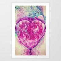 Sacred Ground Nebula  Art Print
