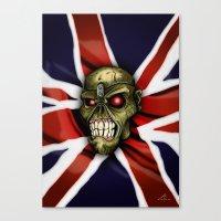 The HEAD Canvas Print