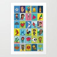 LOTERIA! Art Print