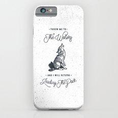 WOLF #BLUE iPhone 6 Slim Case