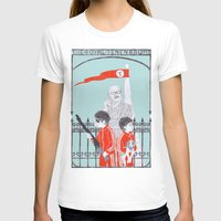T-shirt featuring Me and Julio Down By The Schoolyard by Mexican Zebra