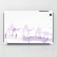 Watercolor landscape illustration_Sahara iPad Case