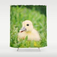 Happy-Go-Ducky Shower Curtain