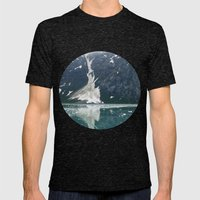 alaskan ice. Mens Fitted Tee Tri-Black SMALL