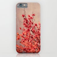 autumn red iPhone 6 Slim Case