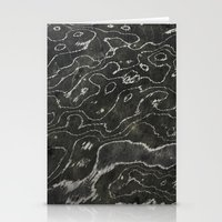 Liquid Marble Stationery Cards