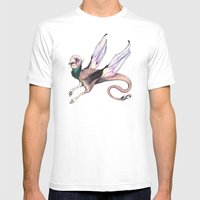 Winged Beast Mens Fitted Tee White SMALL