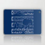 The Moonlight Sonata Blu… Laptop & iPad Skin