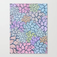 Summer Pattern #5 Canvas Print