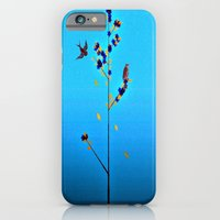 iPhone & iPod Case featuring Slow arrival of Autumn (series)  by Laura Santeler