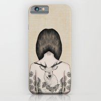 iPhone & iPod Case featuring something flowery  by NOA ALON ART