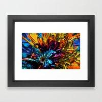 A Little Splash Of Color Framed Art Print