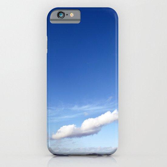 with a sky blue sky... iPhone & iPod Case