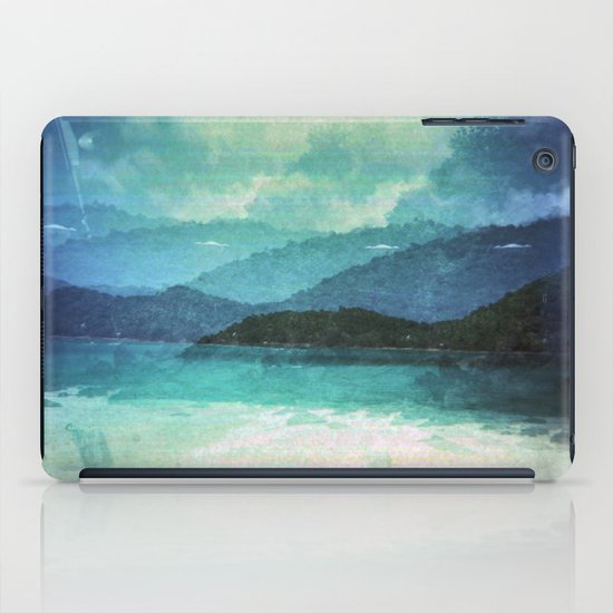 Tropical Island Multiple Exposure iPad Case