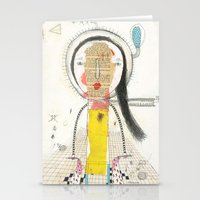 Lose myself Stationery Cards