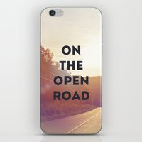 On The Open Road. iPhone & iPod Skin